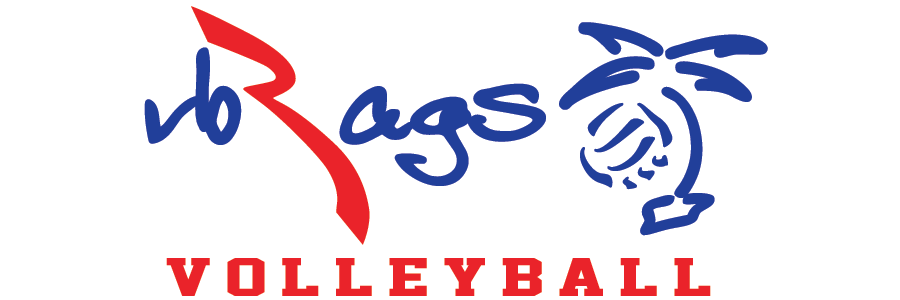 VB RAGS VOLLEYBALL Custom Shirts & Apparel